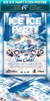Ice Ice Party Flyer by squizmo