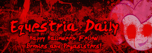 EqD Halloween Banner Black by Topsy-N