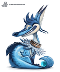 Daily Painting 754. Kanto - 134 REDO by Cryptid-Creations