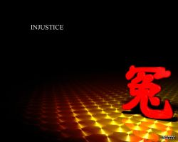 Injustice in red and yellow by johnmanga