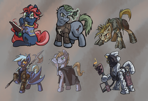 Some characters by Kalemon