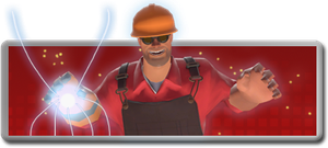 TF2 Engineer is credit to team by masterAnimeMaster