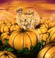 Terror Of The Punkin Patch by daanzi