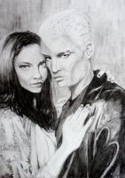 Spike and Drusilla by kcarbonari