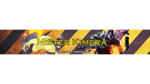 Plantilla Youtube Mister Kimera by DJ-Xigu