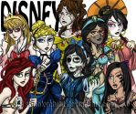 Demented Disney by MelissaDalton