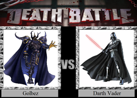 Golbez vs. Darth Vader by JasonPictures