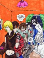 Death Note Party by The-Butterses