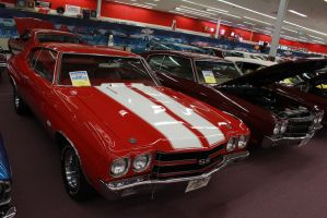 Red 'N White Chevelle by KyleAndTheClassics
