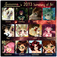 Summary of Art 2013 by Suesanne