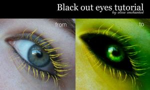 Black out eye tutorial by EliseEnchanted