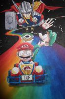 Rainbow Road by InfamouslyDorky