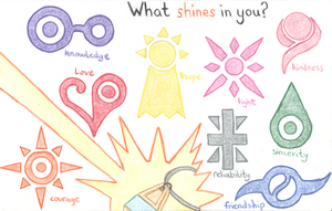 What shines in you? by someonewhobelieves