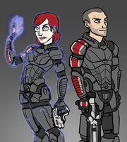 Adept and Soldier by benevoak