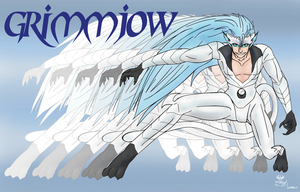Grimmjow Jaegerjaquez Transformatiom Form by WorldAngel