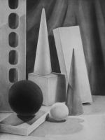 White Object Still Life by WeeverWolf