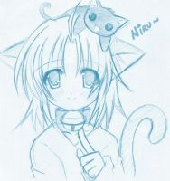 9. Neko-Girl to serenety-wings by Niru-chan