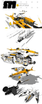 Stryder Modularity's Mako: WIP Part 6 by Pixel-pencil