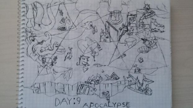 10 days of environment Day: 9 Apocalypse. by Omer100