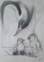 Penguin. by DrawingArt23