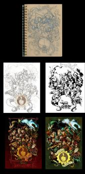 Progression compilation for the league of steam by BrianKesinger