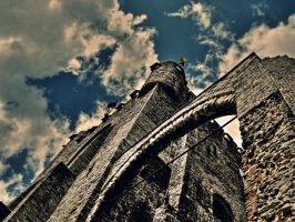 The old castle by Roji-Hachi