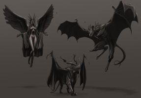 Gargoyle Designs Rough by rpowell77