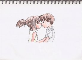 Anime Couple :D by maja135able