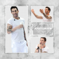 ADAM LEVINE PNG Pack #5 by LoveEm08