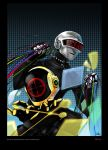 Daft Punk: comic cover by deathdetonation
