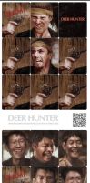 The Deer Hunter Card Game by juhoham