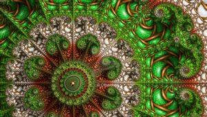 Mandelbrot 142 - Merry Christmas 2016 - by Olbaid-ST