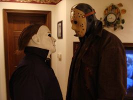 Jason and Michael by G-e-O