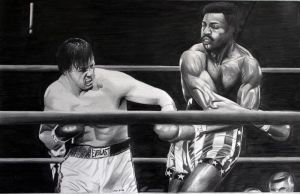 Rocky v Apollo by donchild