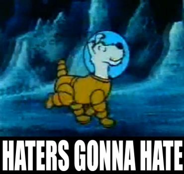 Space Snowy:Haters Gonna Hate by TandP