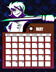 DtGR 2016 Calendar- May by Eleanorose123