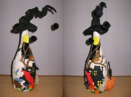 Halloween BOTTLE 1-2 side by zefforian