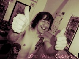 ...One Happy Customer. by GetSomeInk