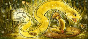 The Golden Eel by EvJones