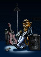 Rockabilly Stray Cat by LineDetail