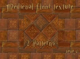 Medieval floor texture (patterns) by jojo-ojoj