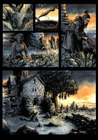Dark Ages page 7 COLOR by klarens