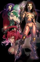 Blades of WITCH3S by theCHAMBA
