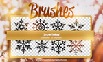 Snowflakes Brushes by yssietwilighter