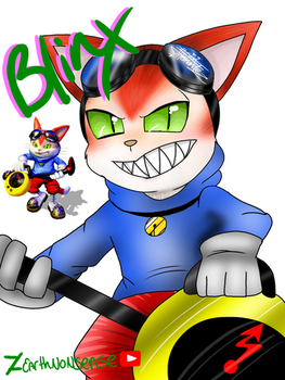 Blinx the time sweeper by EarthNonsense