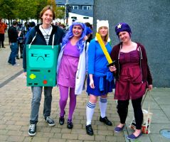BMO, LSPs and Fionna by ZeroKing2015