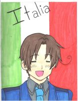 North Italy Hetalia by sures1109