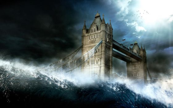 The end, the tsunami... by FlowGraphic