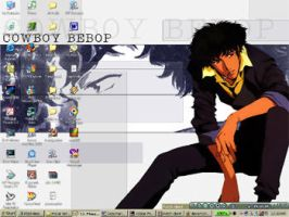 cowboy bebop desktop by battlesmith