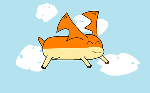 Patamon flying by PikachuFan60